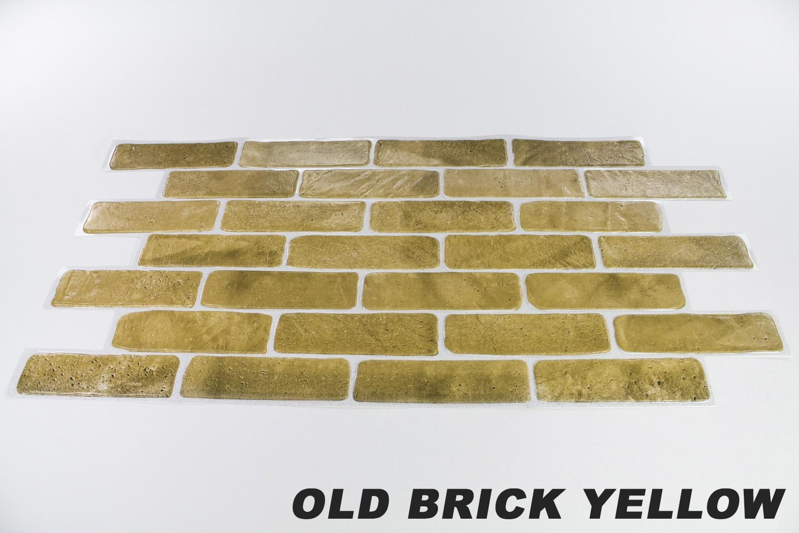 Old brick yellow originalbild