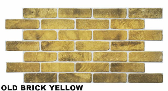 Old brick yellow1