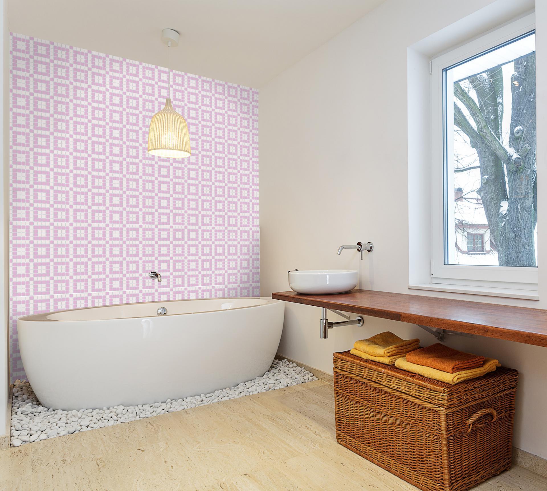 Pink chocolate mosaic 01