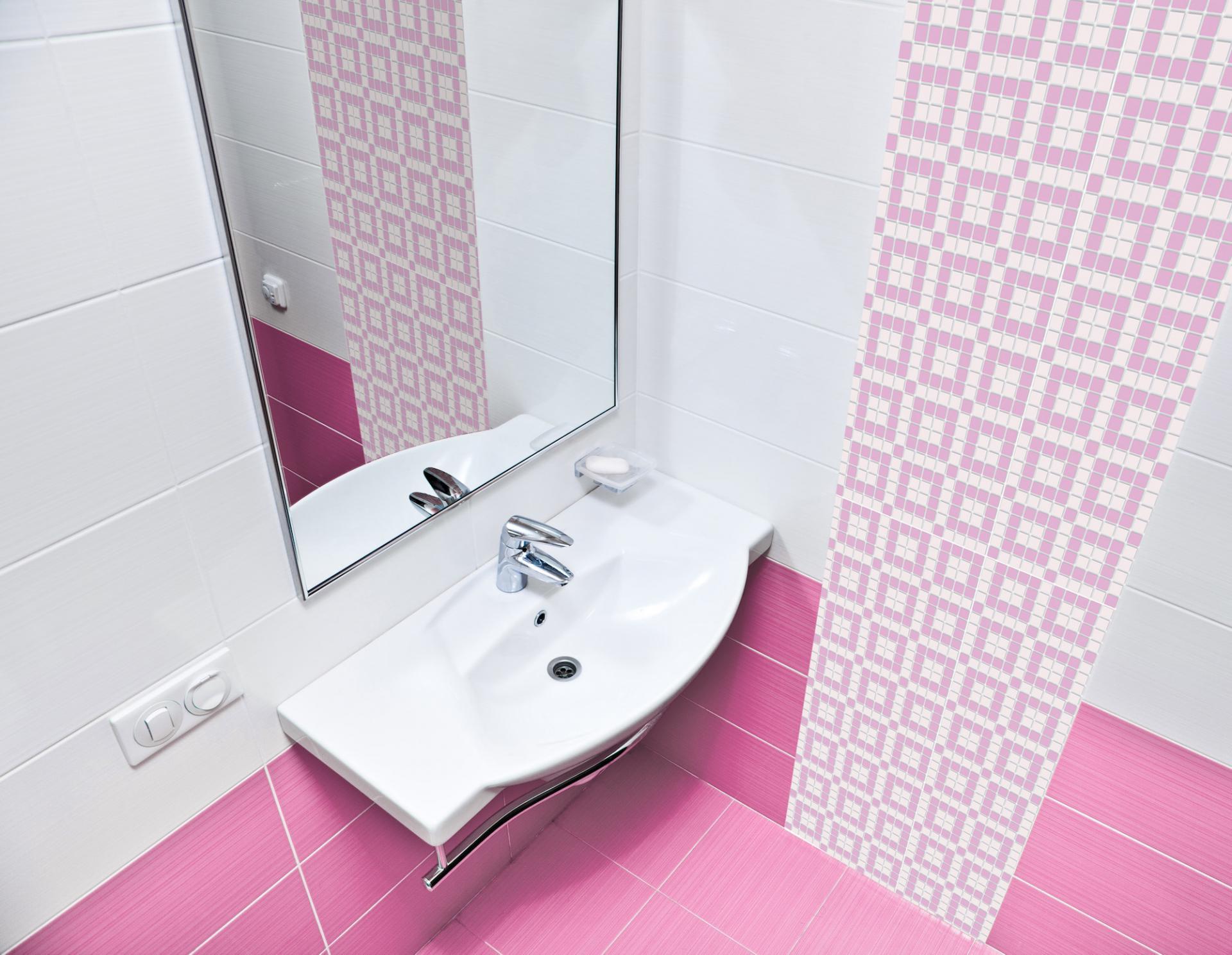 Pink chocolate mosaic 02