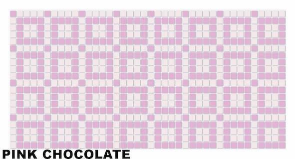 Pink chocolate mosaic1