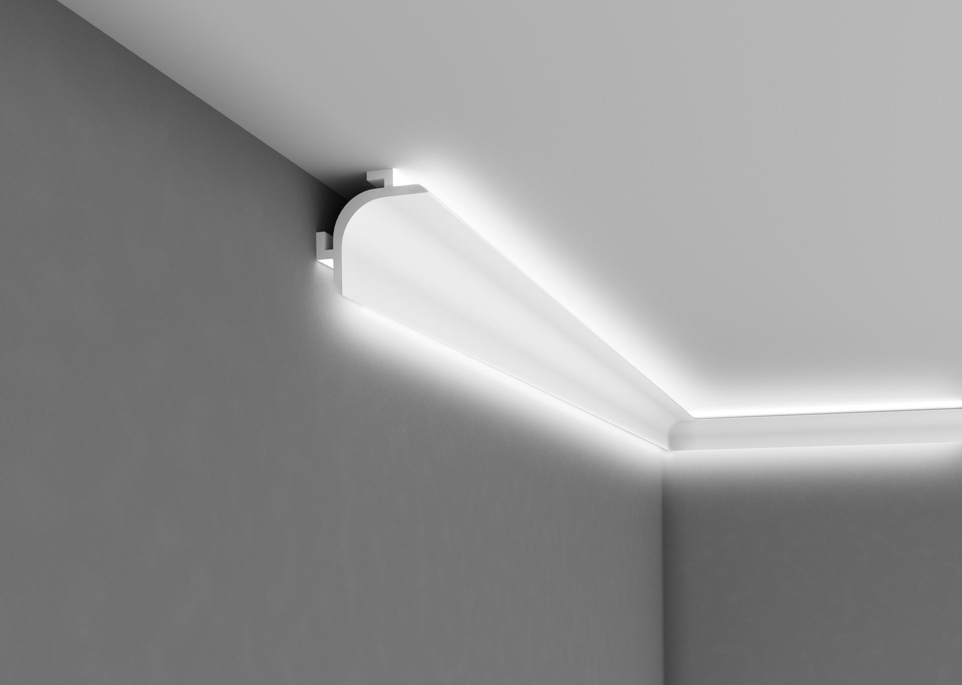 corniche d clairage indirect. Black Bedroom Furniture Sets. Home Design Ideas