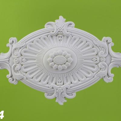 ROSACE de plafond POLYURÉTHANE R114 31.5 x 60cm