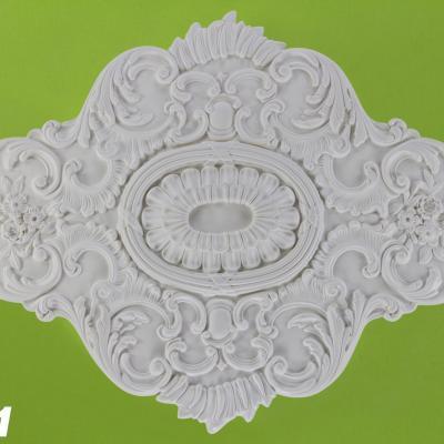 ROSACE de plafond POLYURÉTHANE R161 73x108cm