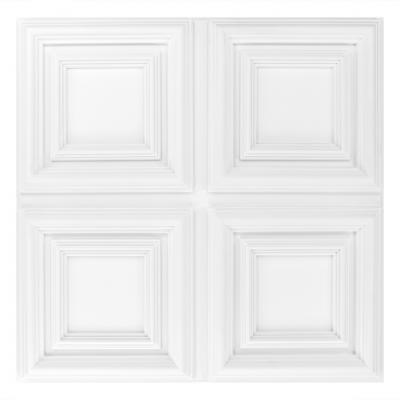 Dalle de plafond polyuréthane Antichoc 60x60cm  R210