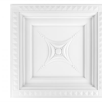Dalle de plafond polyuréthane Antichoc 60x60cm  R242