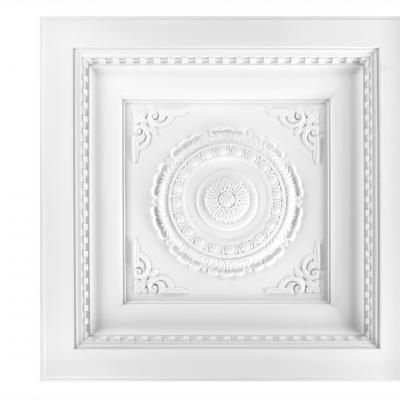 Dalle de plafond polyuréthane Antichoc 60x60cm  R249