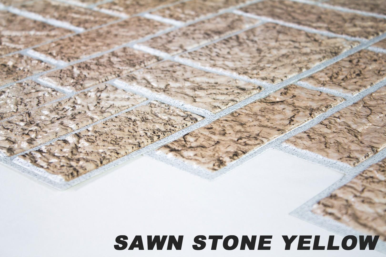Sawn stone yellow originalbild 1