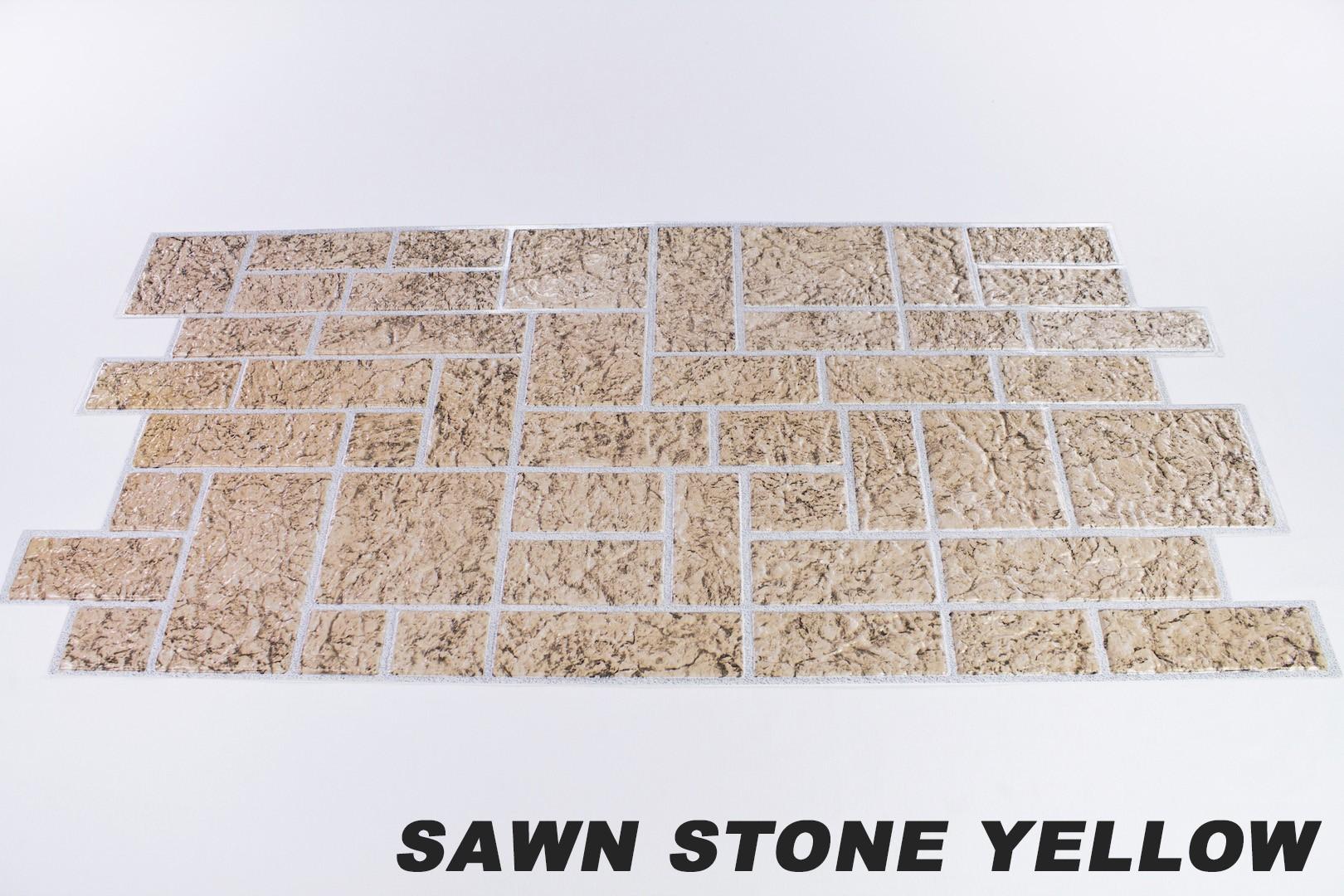 Sawn stone yellow orignalbild