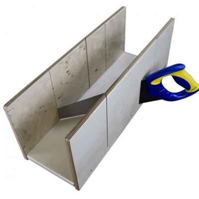 Kit - Boîte à onglet professionnelle  + Scie
