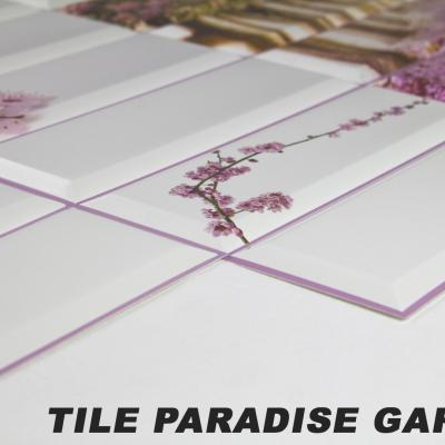 Panneau décoratif mural PVC 95x48cm, TILE PARADISE GARDEN
