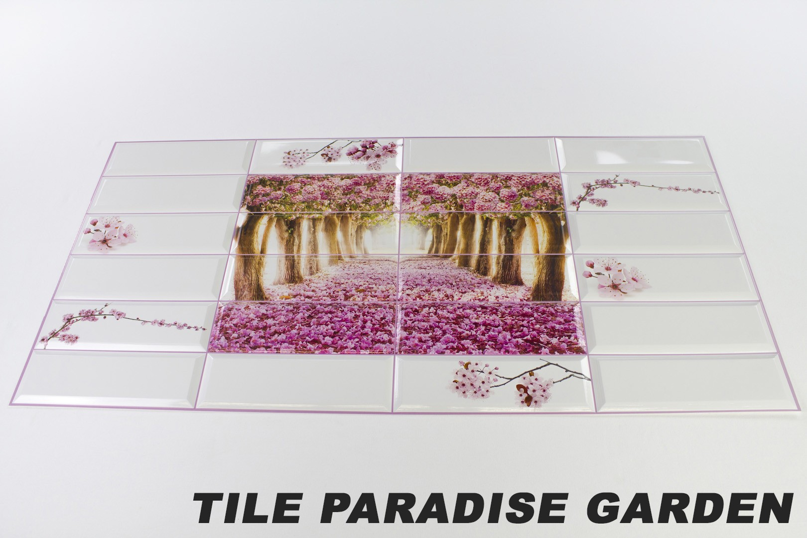 Tile paradise garden originalbild