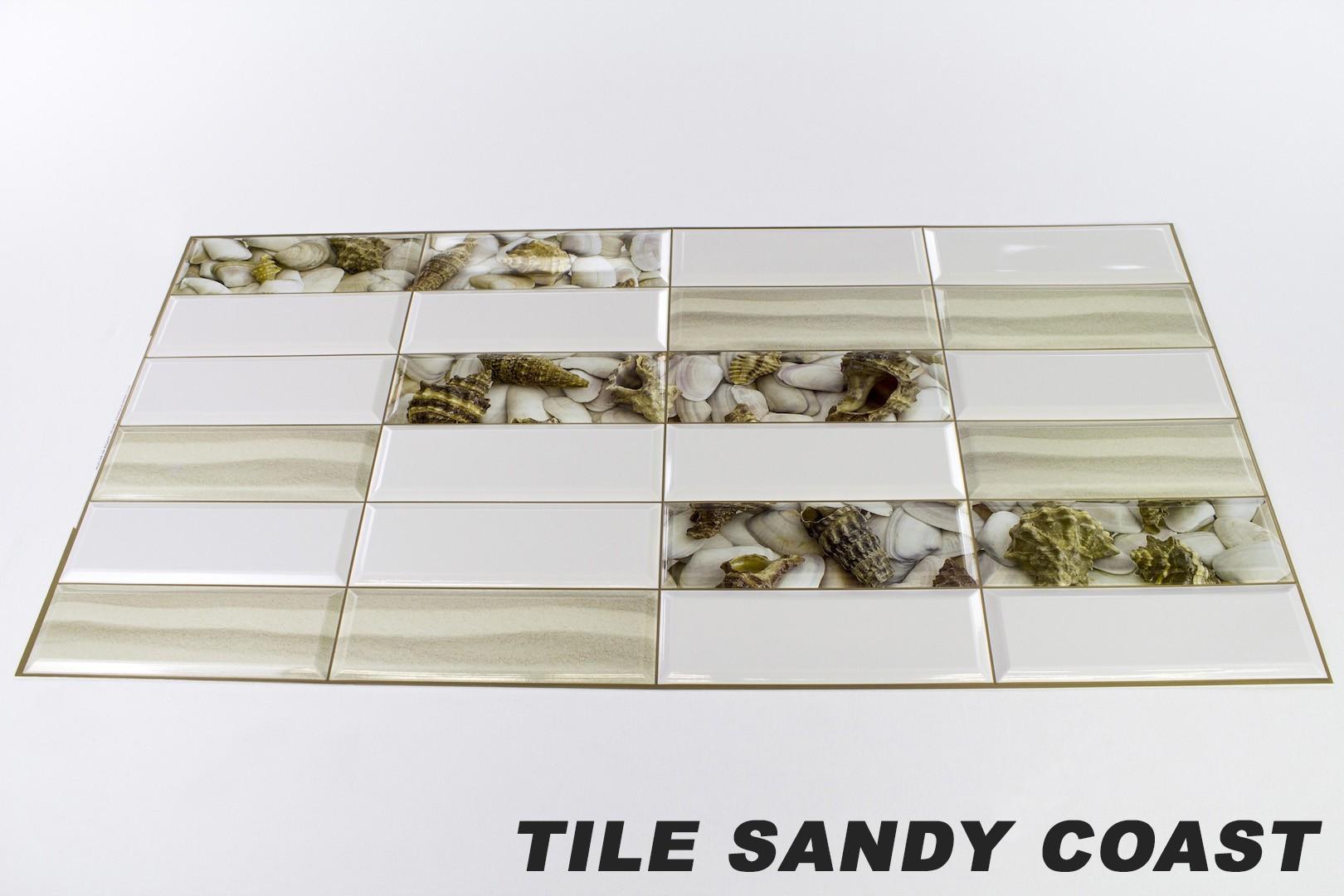 Tile sandy coast originalbild