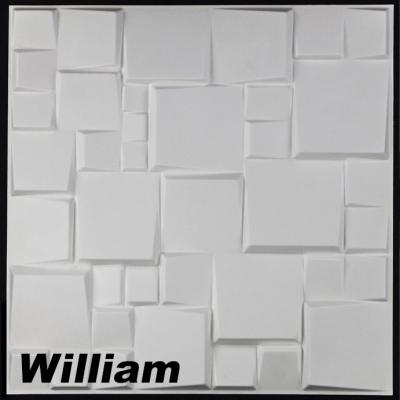 1 m² Panneau mural 3D en Bambou 50 x 50cm WILLIAM